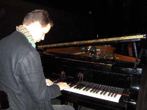 Pianist Leo Bouwmeester