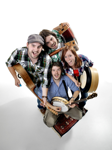 Ierse band the Paddies