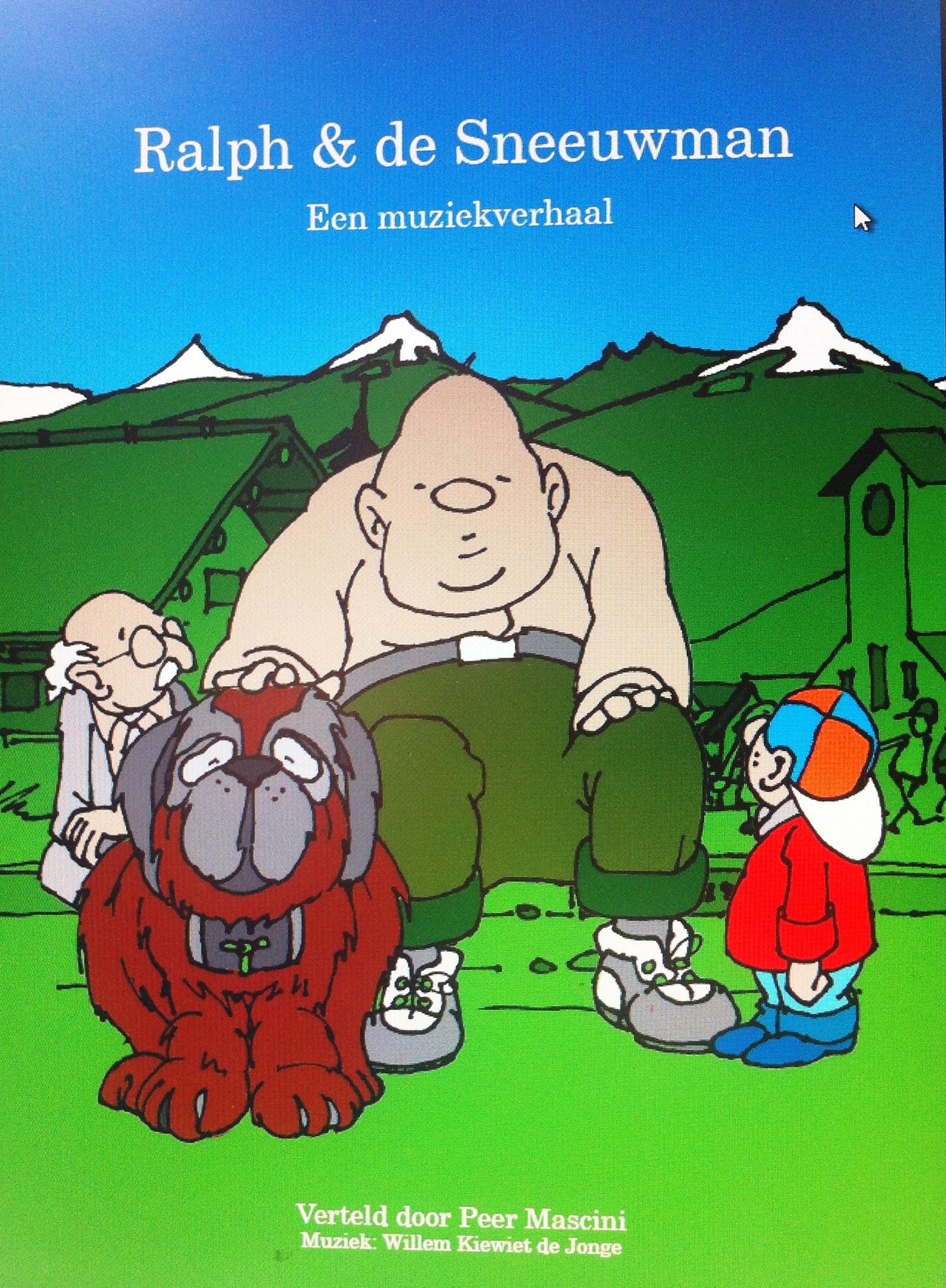 Muziekverhaal Ralf en de Sneeuwman nu ook on-line
