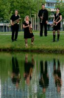 Pyton Sax Kwartet (water)