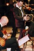 Carel Kraayenhof tijdens Rapenburgconcert (Leiden)