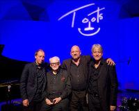 Karel Boehlee met Toots' European Quartet