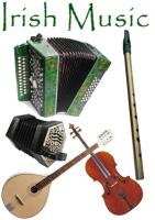 Veel gebruikte instrumenten in de Ierse Muziek