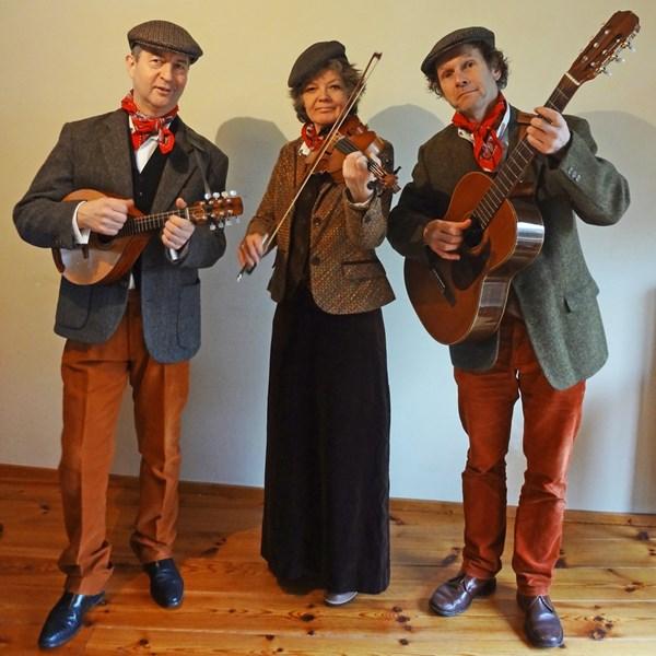 Iers trio the Shamrocks
