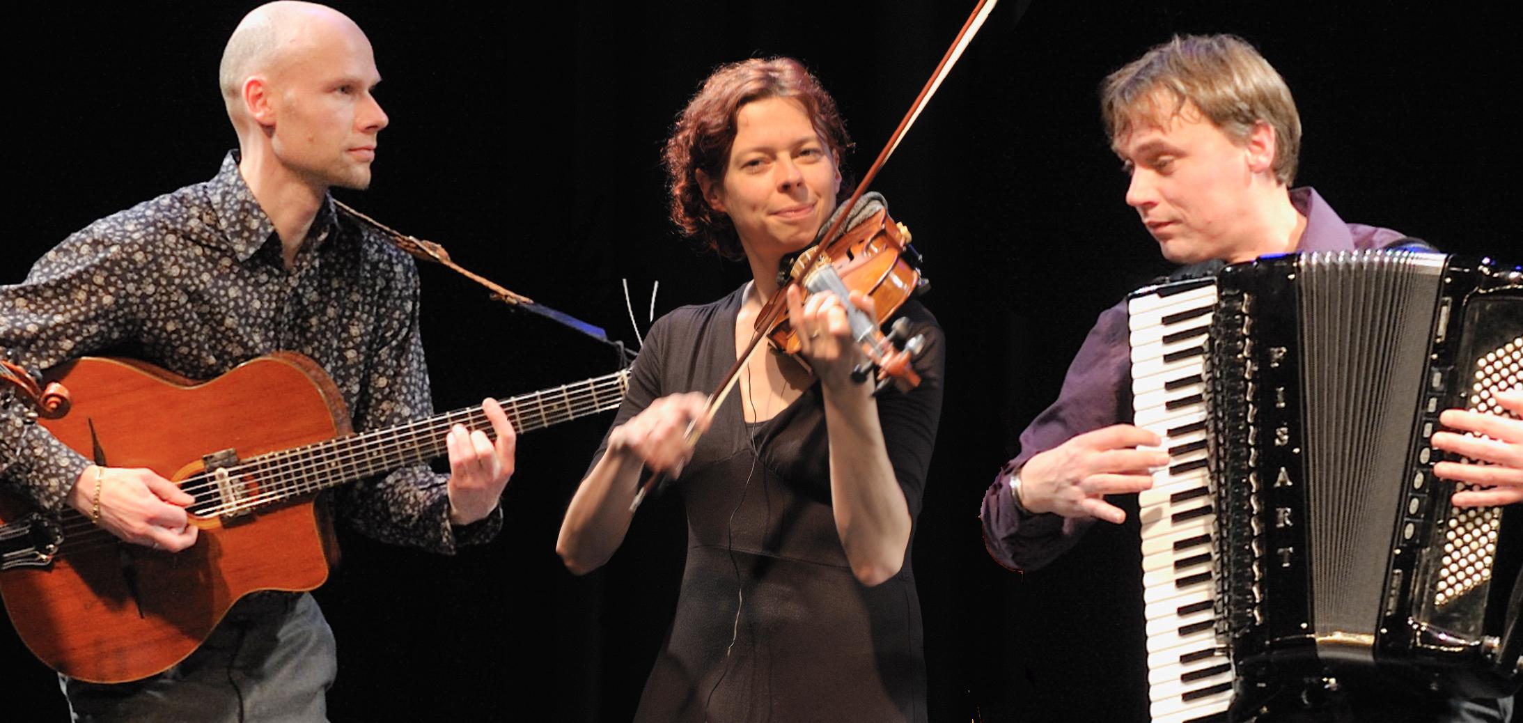 Klezmer trio Sjofar