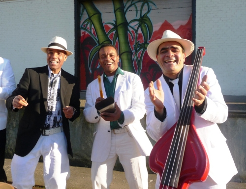 Cuban latin Trio Caney